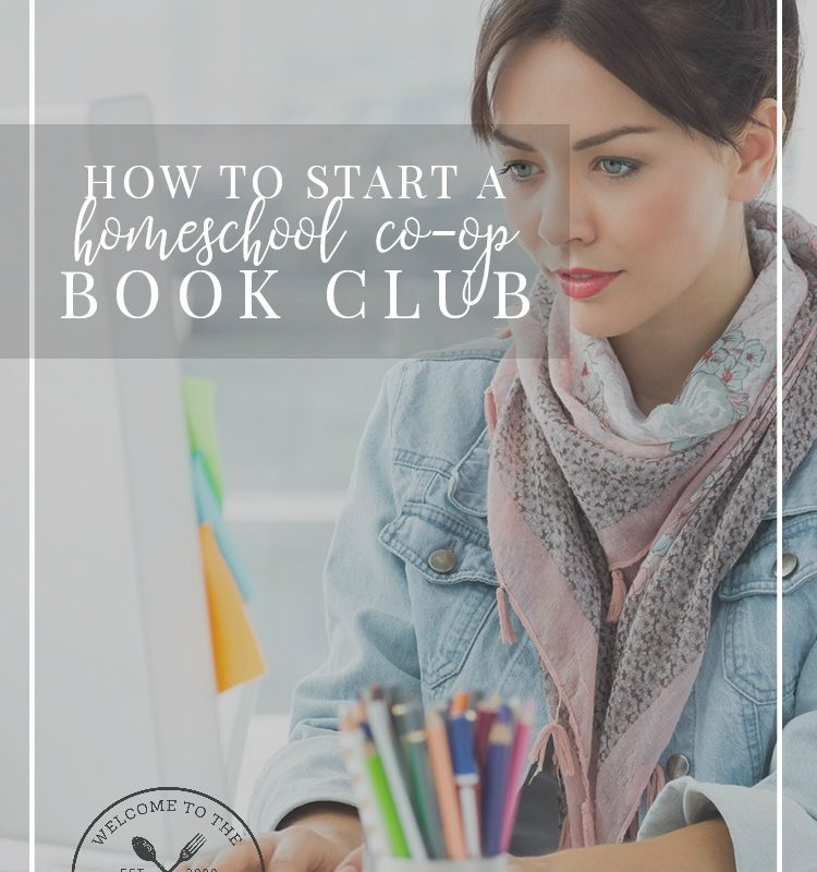 Are you thinking about starting a homeschool co-op book club? We can help!
