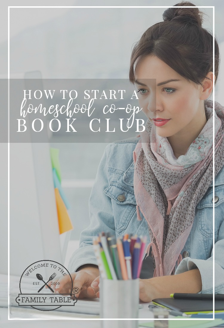 How to Start a Homeschool Co-Op Book Club