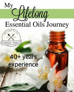 lifelong essential oils journey