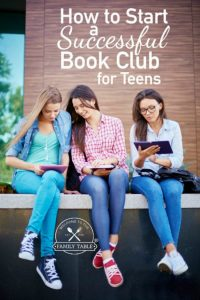 Are you thinking about starting a bookclub for your teen? If so, come see how you can ensure a success!