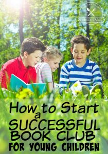 Have you been thinking about starting a book club for your young children but not sure where to start? We can help! Come see how to start a successful book club for young children.