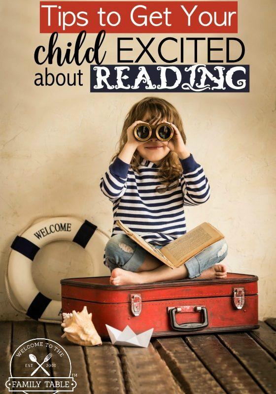Come check out these tips from a veteran homeschool mom to get your child excited about reading!