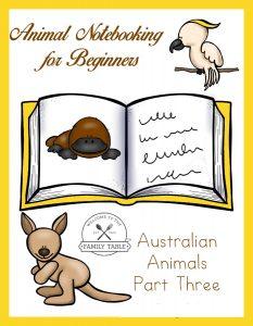 animal notebooking