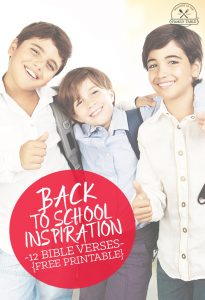 12 Bible Verses for Back to School Inspiration