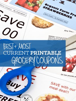 Best and Most Current Printable Grocery Coupons