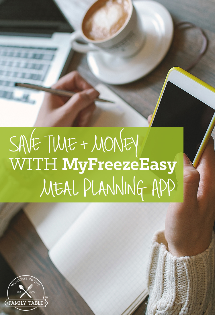 Learn how you can save time and money with the MyFreezEasy meal planning app!