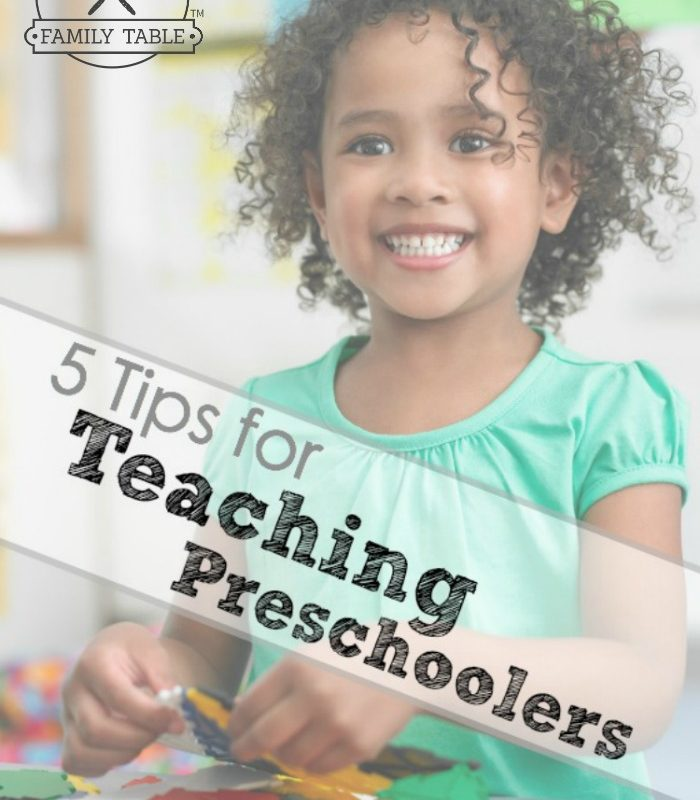 Sometimes teaching our cuddly, sweet, smart, and sometimes crazy preschoolers can be challenging. Here are 5 tips for teaching preschoolers that work!