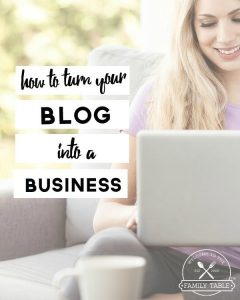 Have you been wondering how you can turn your hobby blog into a business? We've got you covered! Come see how to turn your blog into a business!