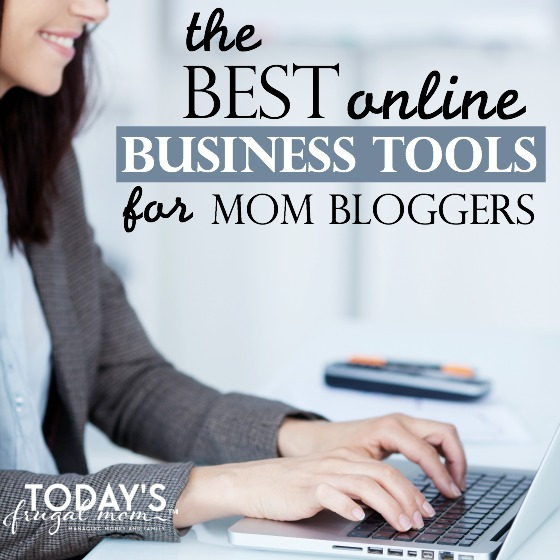 best online business tools for mom bloggers