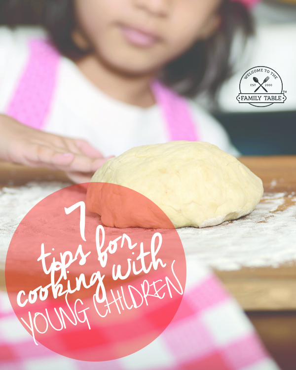 7 Tips for Cooking With Young Children
