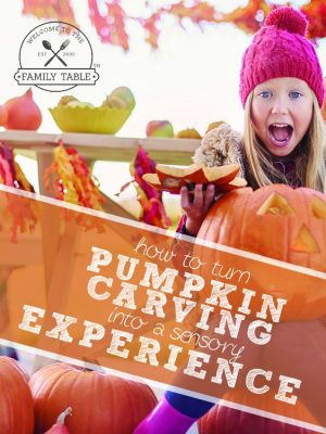 How to Turn Pumpkin Carving into a Sensory Experience