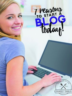 Have you been tossing around the idea of starting a blog? If so, what's stopping you? Come see these 7 reasons you need to start a blog today!
