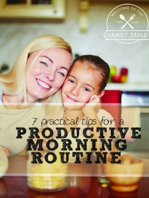 7 Practical Tips for a Productive Morning Routine