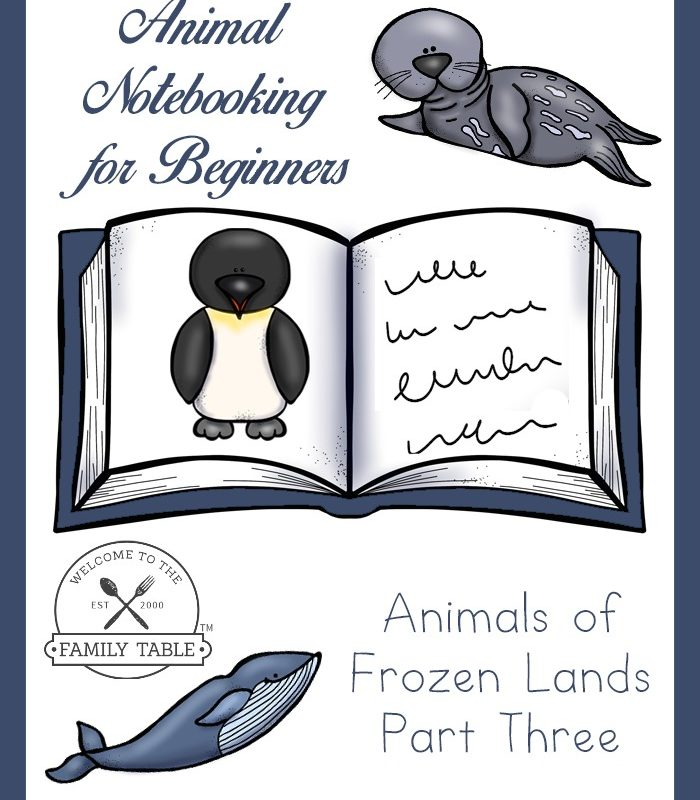 Animal Notebooking for Beginners – Animals of Frozen Lands, Pt. 3
