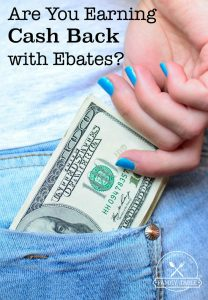 Could you use some extra cash? If so, come see how you can earn cash back using Ebates!