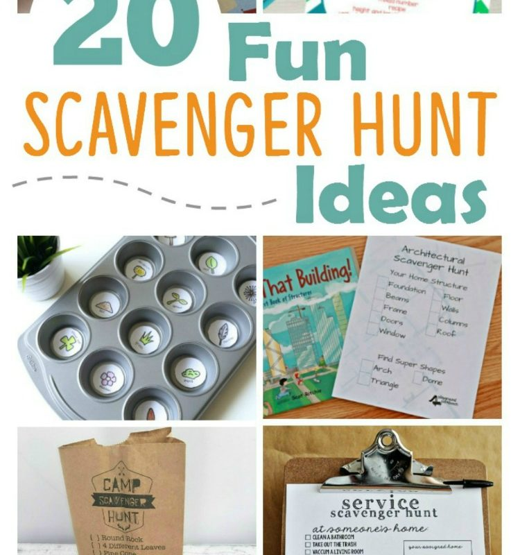 20 Fun Scavenger Hunt Ideas