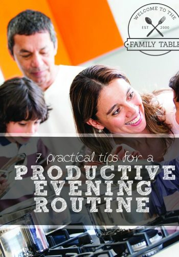 7 Practical Tips for a Productive Evening Routine