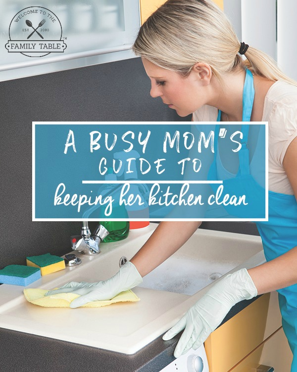 Do you struggle with keeping your kitchen clean? Here are some great tips on how to keep your kitchen clean no matter how busy life gets!