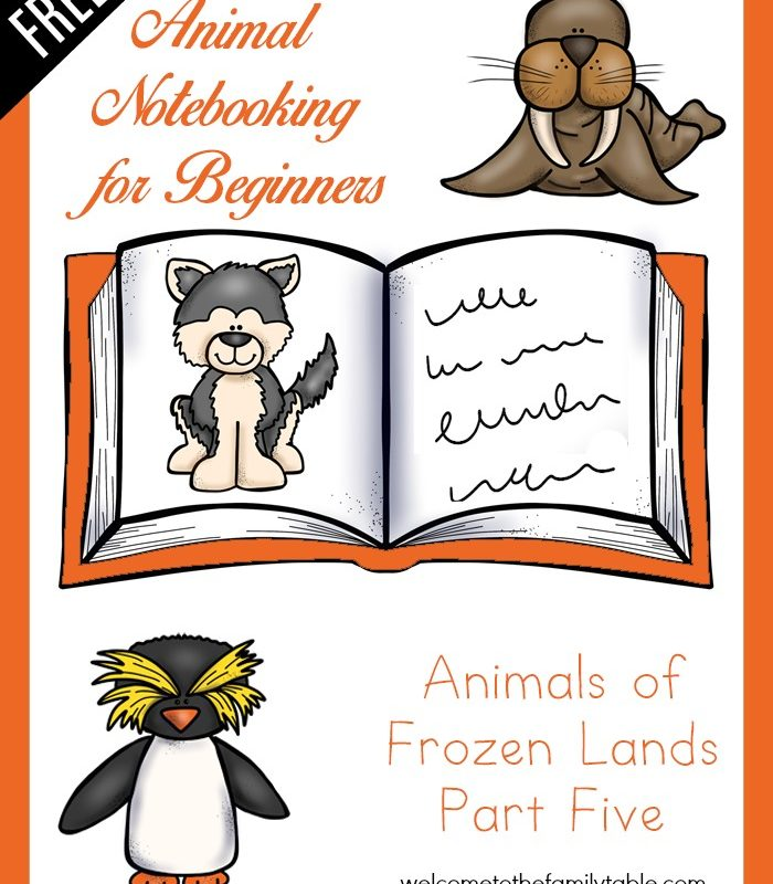 Notebooking for Beginners – Animals of Frozen Lands, Pt. 5