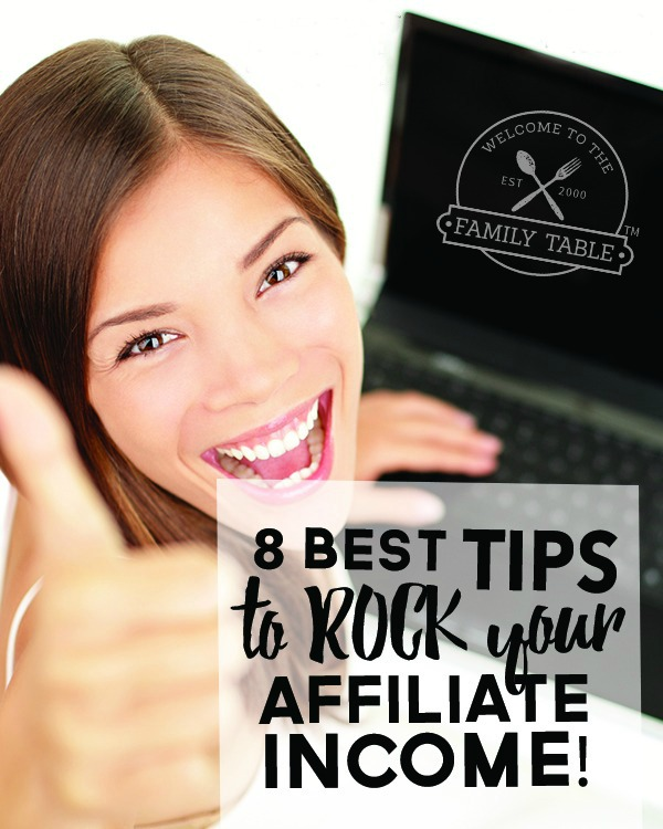 Are you looking for some ways to increase your affiliate income? Or perhaps you are looking for a place to start? Come see these 8 best tips to ROCK your affiliate income!
