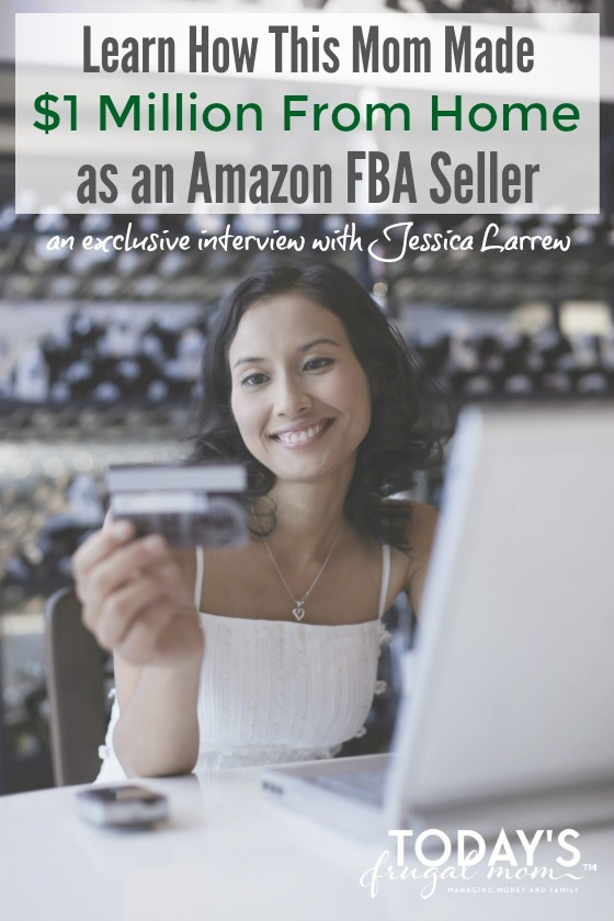 Learn how one mom has been able to make million dollars from home as an Amazon FBA seller! :: todaysfrugalmom.com