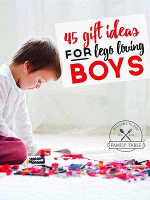 45 Gift Ideas for Lego Loving Boys