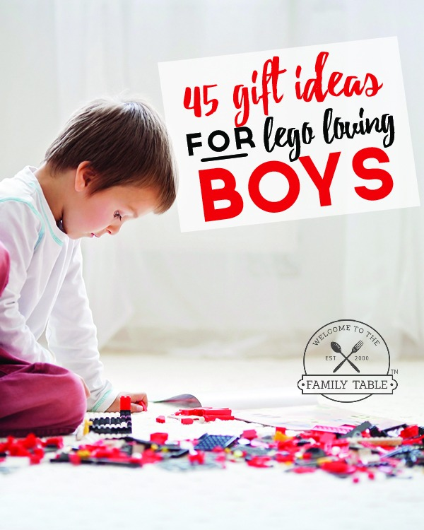 Are you on the lookout for some gift ideas for the Lego loving boys in your life? If so come see these 45 gift ideas for Lego loving boys!