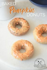 Looking for a lighter version of the classic donut? Come try our baked pumkin donuts!