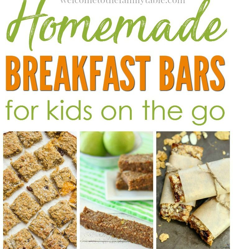 Homemade Breakfast Bars for Kids on the Go