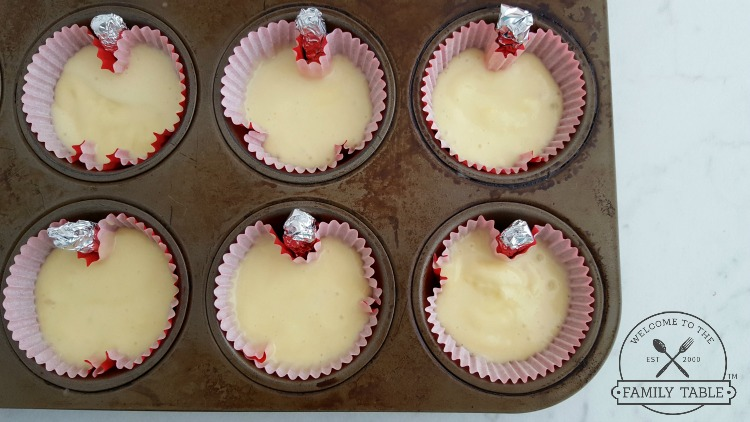 Apple Shaped Cupcakes