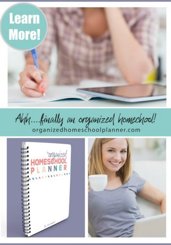 The Organized Homeschool Planner™