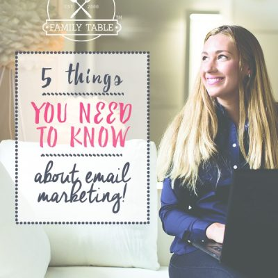 Email marketing is still the most effective way to connect with your loyal readers and customers. Here are 5 things you need know know about email marketing.