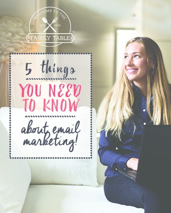 5 Things You Need to Know About Email Marketing