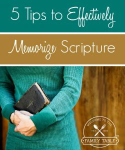 Are you looking for some ways to help you memorize Scripture? If so, these 5 ways can help.