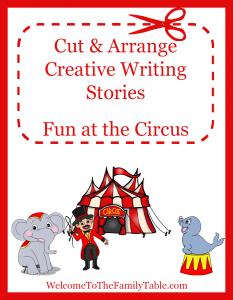 Cut and Arrange - Fun at the Circus