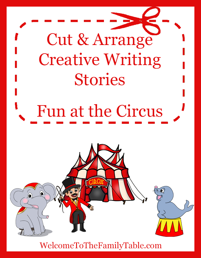 Cut and Arrange - Fun at the Circus
