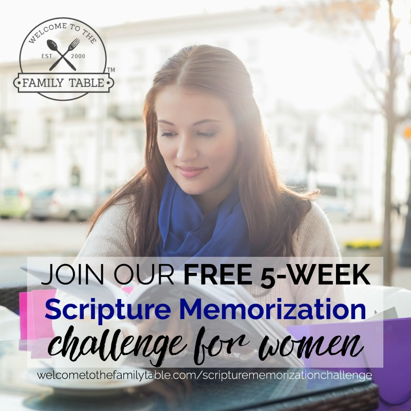 Free Scripture Memorization Challenge for Women