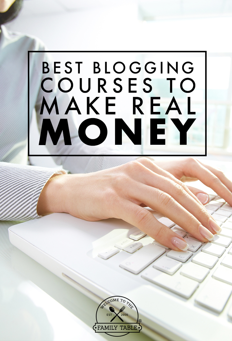 Are you looking for ways to up your blogging game? Come see the best blogging courses to make you real money!