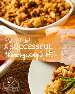 How to Plan a Successful Thanksgiving Dinner