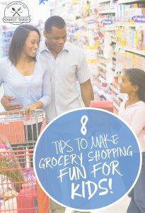 Do your children dislike grocery shopping? If so, come try these 8 tips to make grocery shopping fun for kids!
