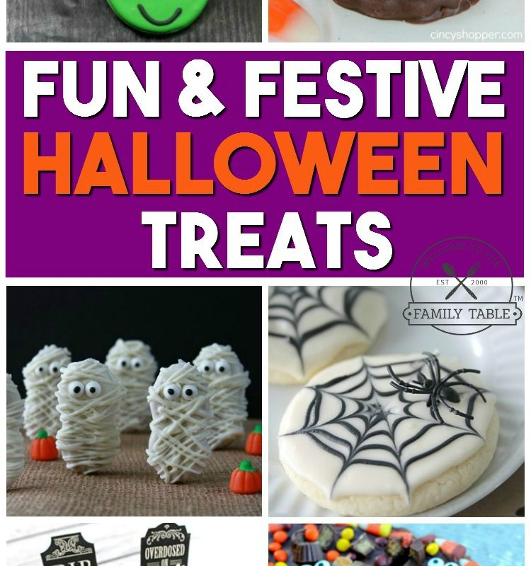 Fun & Festive Halloween Treats