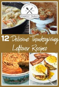 Looking for some great Thanksgiving leftover recipes? Come try these 12 delicious ideas!