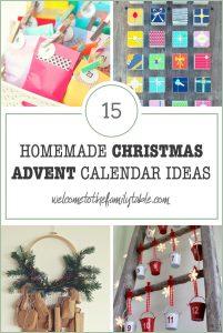 15 Homemade Advent Calendars