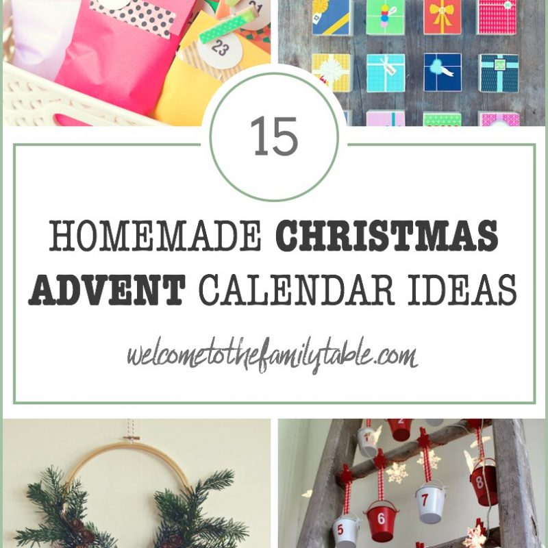 15 Homemade Advent Calendars