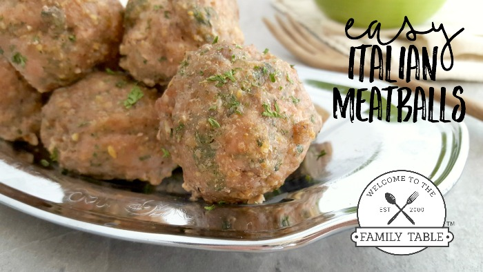 Italian Meatballs Hero Shot