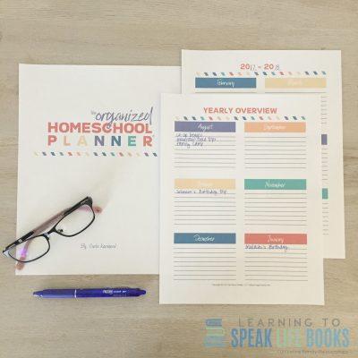 Best homeschool parent tool - The Organized Homeschool Planner™