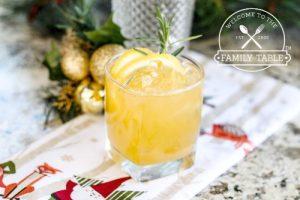 Papaya & Limoncello with Rosemary Mocktail