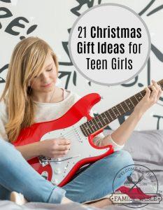 21 Christmas Gift Ideas for Teen Girls