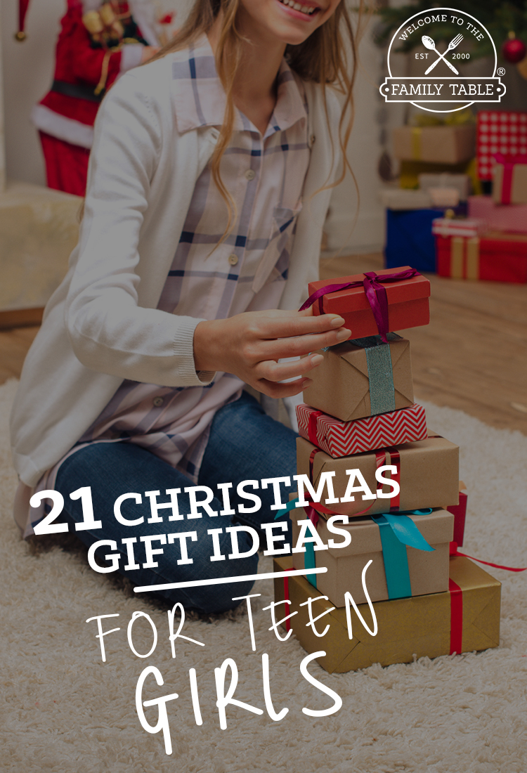 21 Christmas Gift Ideas for Teen Girls