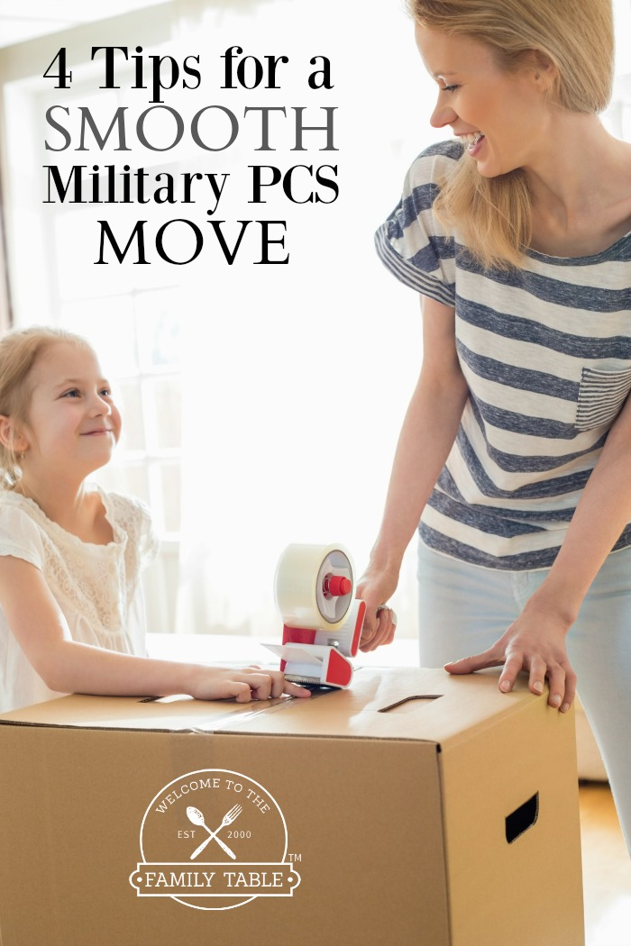 4 Tips for a Smooth Military PCS Move